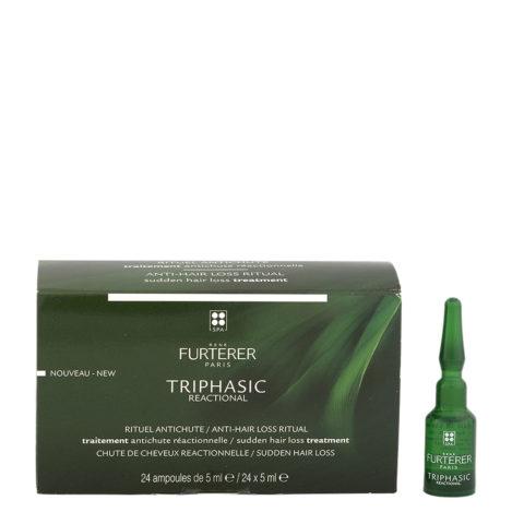 René Furterer Triphasic Reactional Anti-Hair Loss Treatment 24x5ml