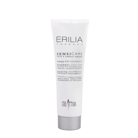 Erilia Sensicare Fango Sebo Assorbente 300ml - Scalp Rebalancing Treatment