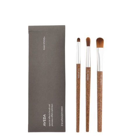 Aveda Flax Sticks Special Effect Brush Set n 5 Eye Smudger n 6 Eye Contour n 8 Complexion