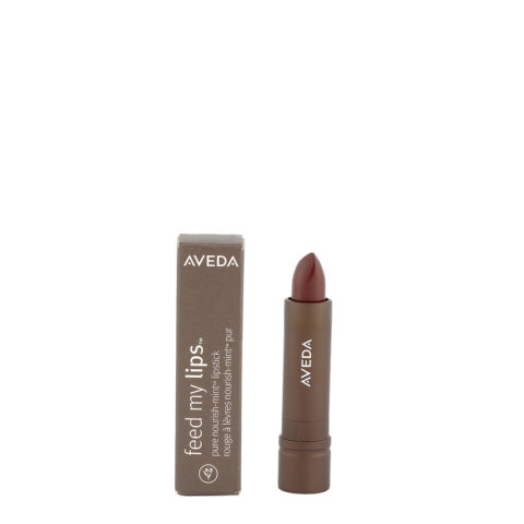 Aveda Feed my lips Pure Nourish Mint Lipstick 3.4gr Cacao Bean 12 - warm neutral brown