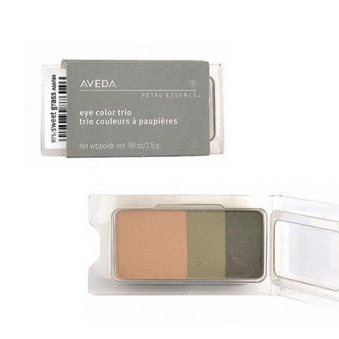 Aveda Petal Essence Eye Color Trio 975 Sweet Grass 2.5gr