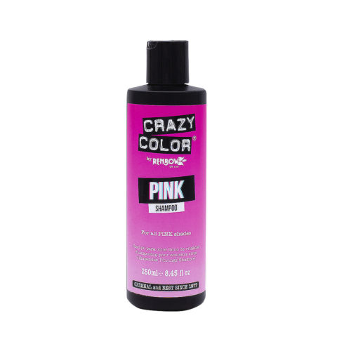 Crazy Color Shampoo Pink 250ml - shampoo for pink hair