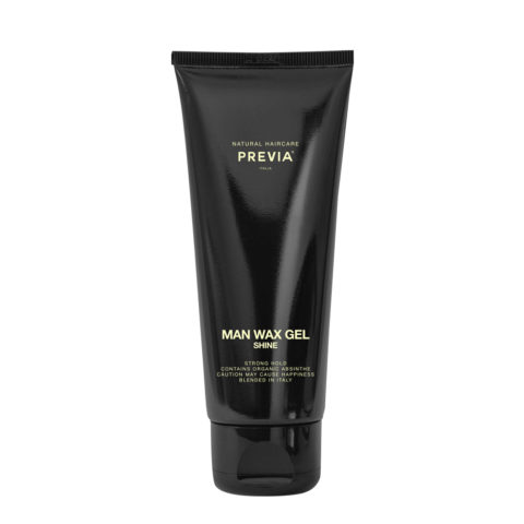 Previa Man Wax Gel Shine 200ml - strong hold