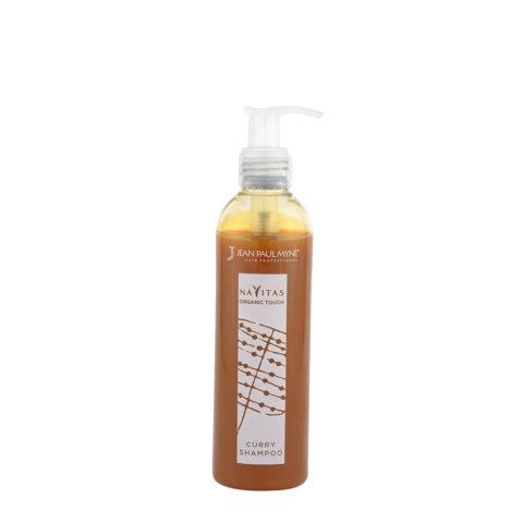 Jean Paul Myne Navitas Organic Touch shampoo Curry 250ml - Coloured Shampoo