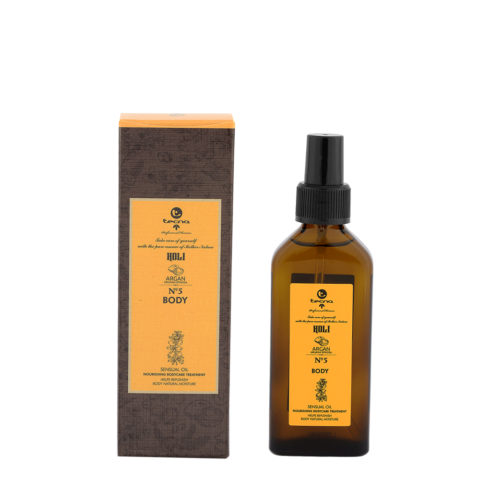 Tecna Holi Body n.5 Argan 100ml - Nourishing Body Oil