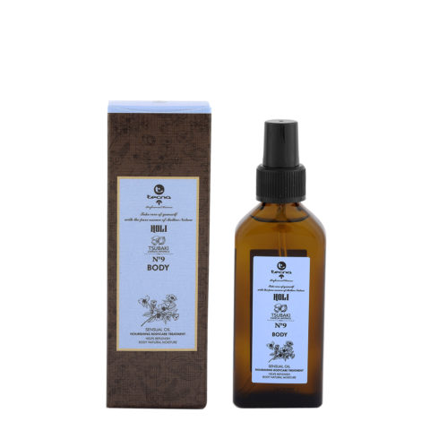 Tecna Holi Body n.9 Tsubaki 100ml - Nourishing Body Oil