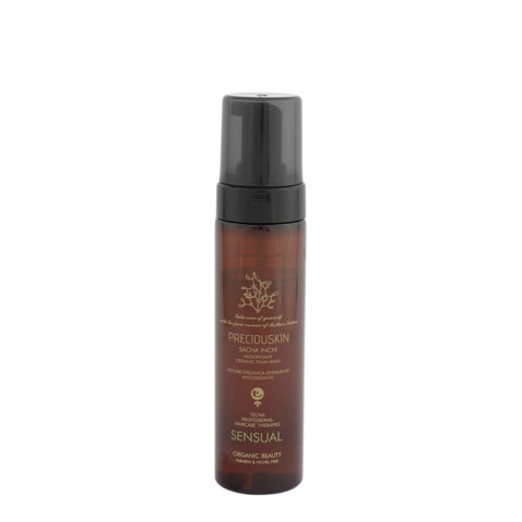 Tecna Preciouskin Sacha Inchi Antioxydant Organic Foam Wash Sensual 200ml - Body Mousse