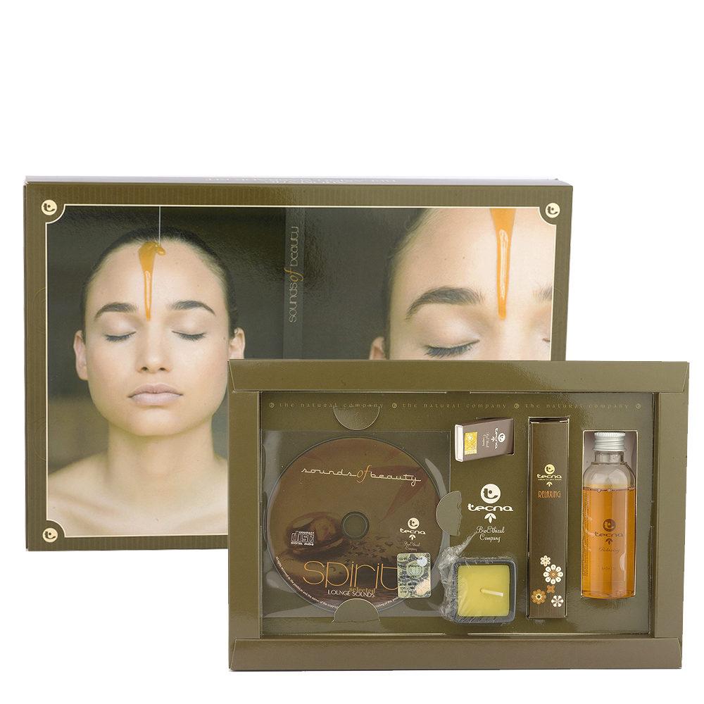 Tecna Relaxing Massage Kit Spirit - Relaxing Kit