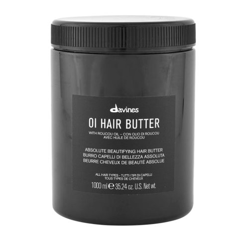 Davines OI Hair Butter 1000ml - hydrating perfumed hair butter