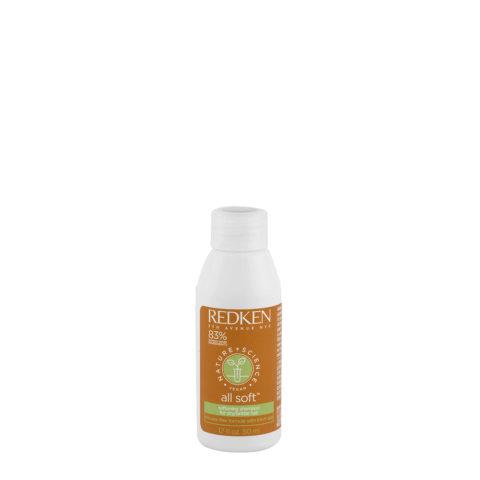 Redken Nature + Science All Soft Softening Shampoo 50ml - hydrating Shampoo