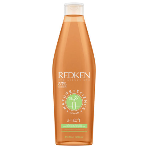 Redken Nature + Science All Soft Softening Shampoo 300ml - Hydrating Shampoo