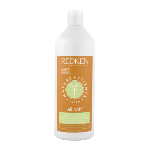 Redken Nature + Science All Soft Softening Conditioner 1000ml - Hydrating Conditioner