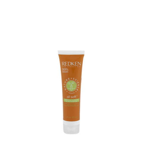 Redken Nature + Science All Soft Softening Conditioner 30ml - Hydrating Conditioner