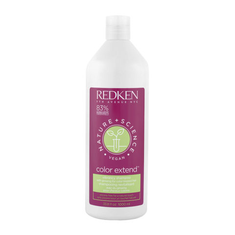 Redken Nature + Science Color Extend Shampoo 1000ml - Hair Coloured Shampoo