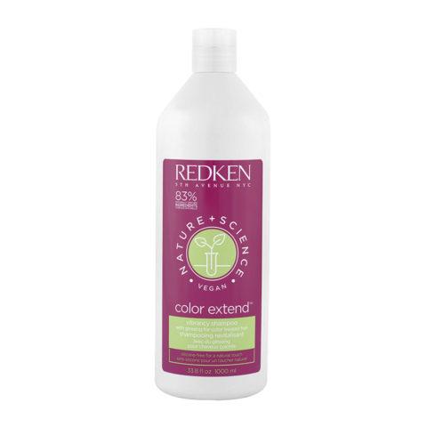 Redken Nature + Science Color Extend Shampoo 1000ml - Hair Coloured Shampoo