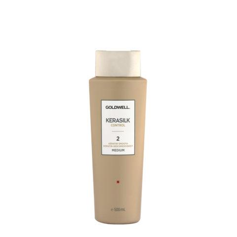 Goldwell Kerasilk Control 2 Keratin Smooth Medium 500ml - Smoothing Treatment