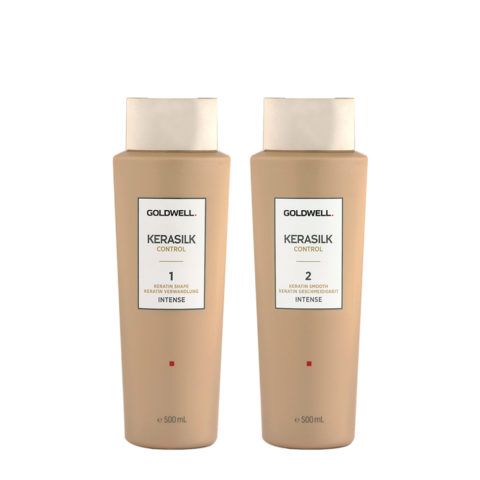Goldwell Kerasilk Control 1 Shape Intense 500ml 2 Smooth Intense 500ml - Smoothing Treatment