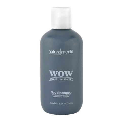 Naturalmente Wow organic hair therapy Soy Shampoo 250ml - antifrizz