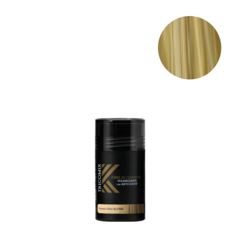 Tricomix Fibre Blond 12gr - Volumizing Keratin Fibers With Anti Hair Loss Principles