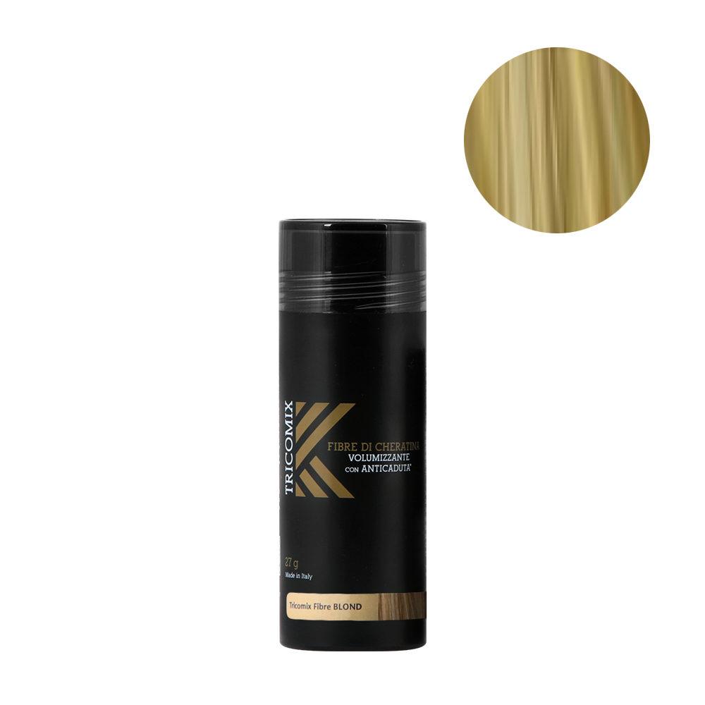 Tricomix Fibre Blond 27gr - Volumizing Keratin Fibers With Anti Hair Loss Principles