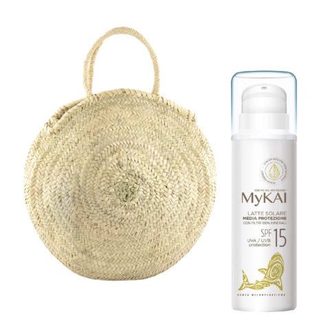 Mykai Sun Protection Medium Protection SPF15, 150ml Free Bag For You