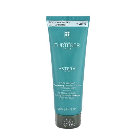 René Furterer Astera Fresh Soothing Freshness Shampoo 250ml - For Irritated Scalp - Limited Edition