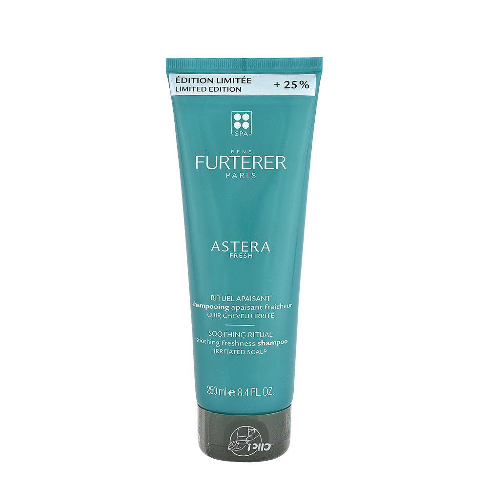 René Furterer Astera Fresh Soothing Freshness Shampoo 250ml - For Irritated Scalp - Limited Edition