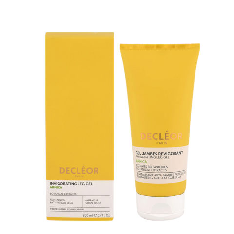 Decléor Invigorating Leg Gel Arnica 200ml - refreshing toning gel