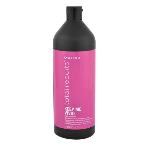 Matrix Total Results Keep Me Vivid Shampoo 1000ml - Mild Shampoo For Coloured Hair