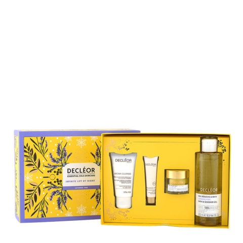 Decléor Essential Oils Skincare Infinite Lift By Night Lavender Fine - Kit 4 Products