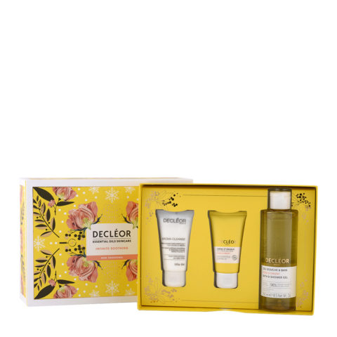 Decléor Essential Oils Skincare Infinite Soothing Rose Damascena - Kit 3 Products