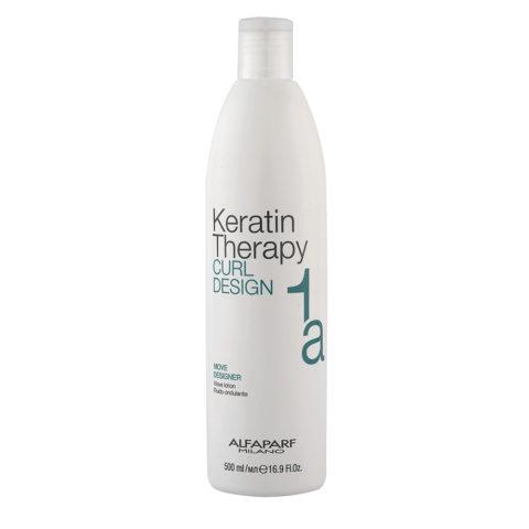 Alfaparf Keratin Therapy Curl Design 1a Move Designer 500ml - Wave Lotion