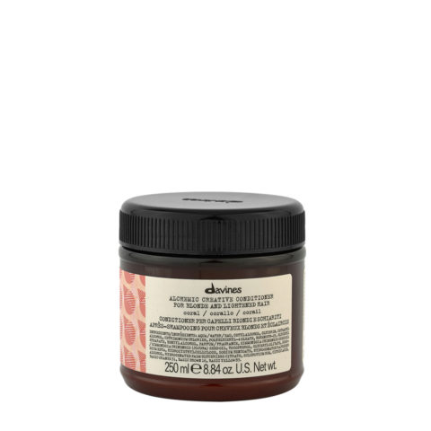 Davines Alchemic Creative Conditioner Coral 250ml