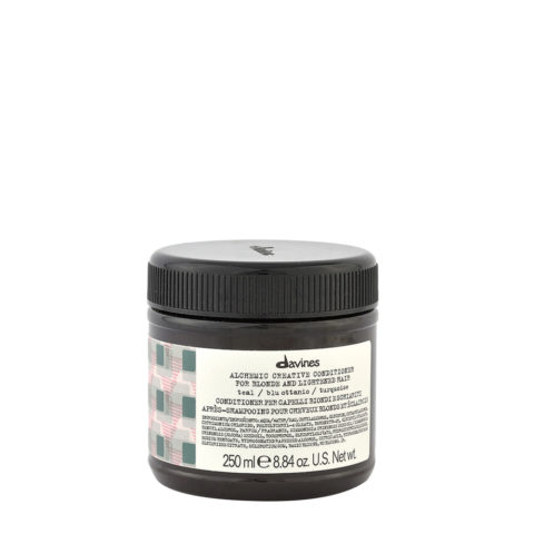 Davines Alchemic Creative Conditioner Teal Blue 250ml