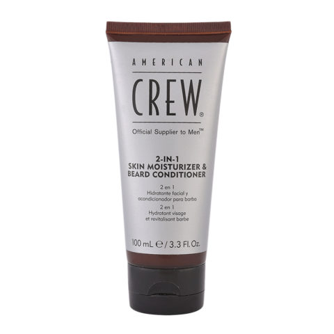 American Crew 2 in 1 Skin Moisturizer Beard Conditioner 100ml