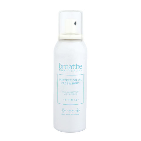 Naturalmente Breathe Sun Protection Oil SPF 6 - 15, 150ml - Face And Body Protective Oil