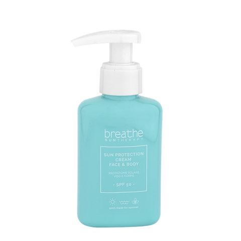 Naturalmente Breathe Sun protection Cream Face & Body SPF50, 100ml - Face And Body Sun Protection