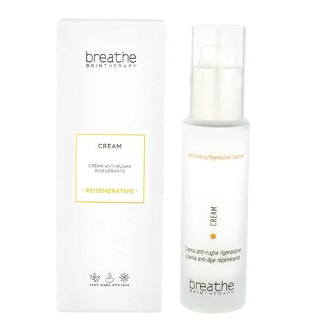 Naturalmente Breathe Regenerative Treatment Cream 50ml - Regenerative Anti - Wrinkles Cream
