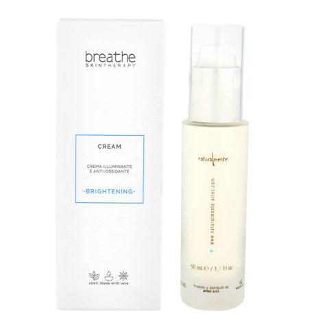 Naturalmente Breathe Brightening Cream 50ml - Illuminating Face Cream