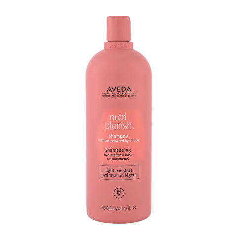 Aveda Nutri Plenish Light Moisture Shampoo 1000ml - for Fine Hair