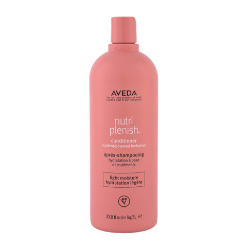 Aveda Nutri Plenish Light Moisture Conditioner 1000ml - for Fine Hair