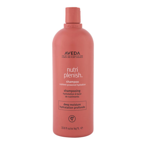 Aveda Nutri Plenish Deep Moisture Shampoo 1000ml - for thick hair