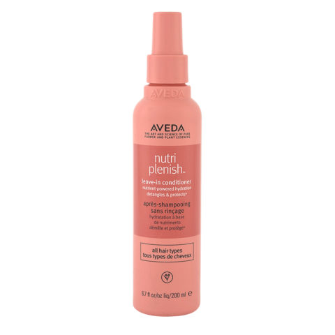 Aveda Nutri Plenish Leave In Conditioner 200ml - Hydrating Spray Conditioner