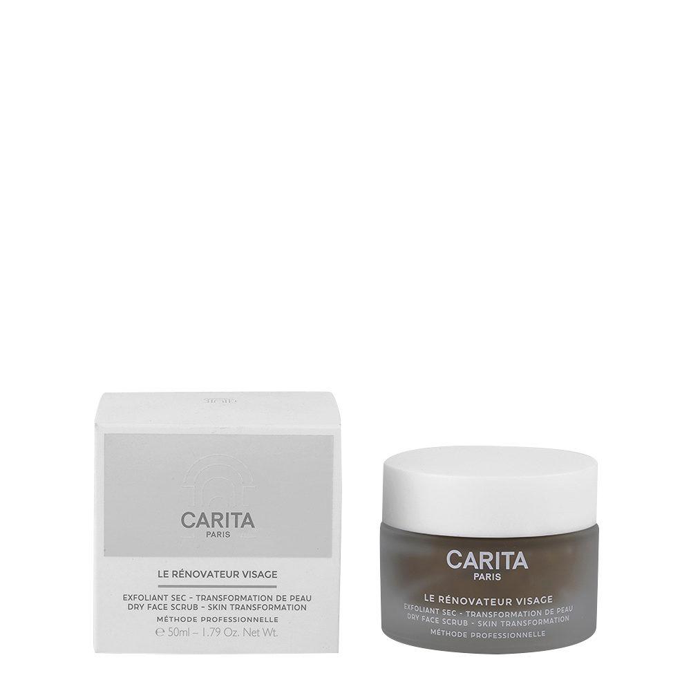 Carita Le Rénovateur Visage 50ml - dry face scrub