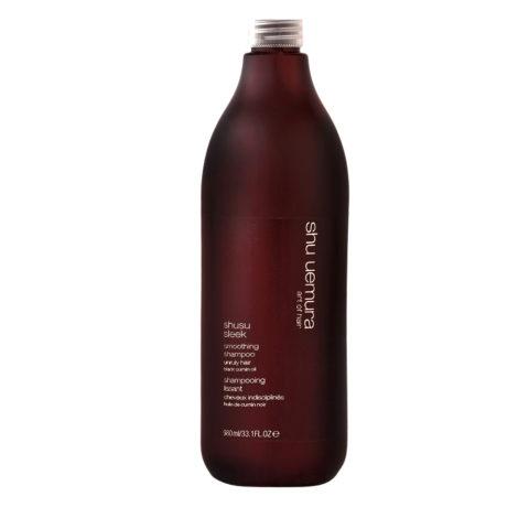 Shu Uemura Shusu Sleek Shampoo 980ml - Smoothing shampoo