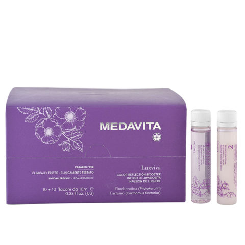Medavita Luxviva Color Reflection Booster 10x10ml - light infusion vials