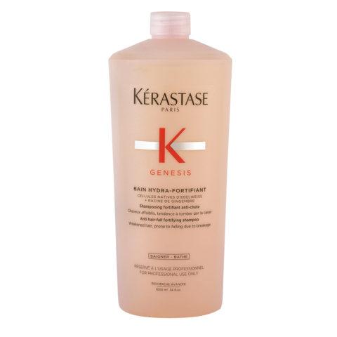 Kerastase Genesis Bain Hydra Fortifiant 1000ml - antihairloss shampoo for weakened hair