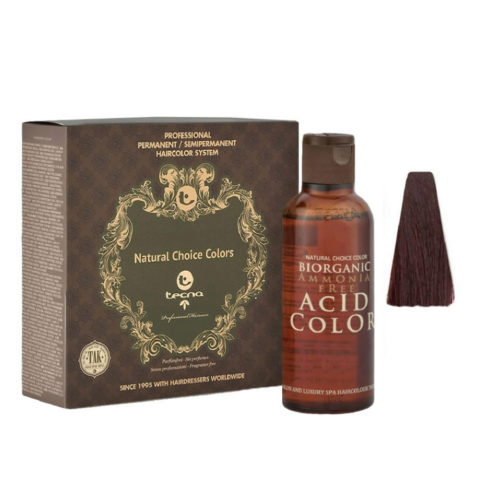 5.25 Violet mahogany Tecna NCC Biorganic acid color 3x130ml