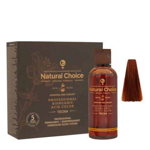 7.4 Medium copper blonde Tecna NCC Biorganic acid color 3x130ml