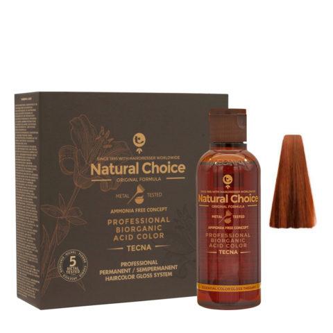 8.43 Light copper gold blonde Tecna NCC Biorganic acid color 3x130ml